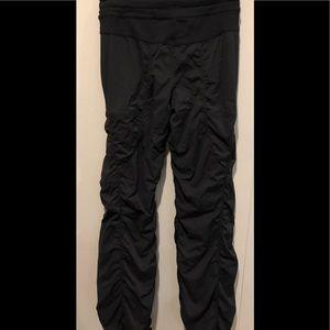 Lululemon black studio lined pants 4